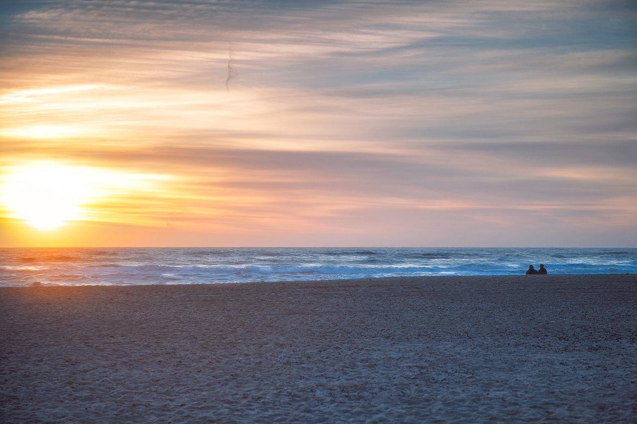 Beach Cloud - Sky Horizon Over Water Nature Outdoors Real People Sand Sea Sky Sun Sunset Water Beauty In Nature The Great Outdoors - 2017 EyeEm Awards Beach Life Danmark Dänemark Freedom Relaxing EyeEmNewHere