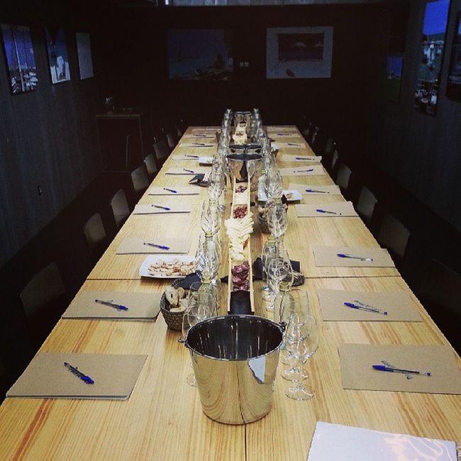 Todo preparado en PaodeToxo para el Wineuptour en Acoruña