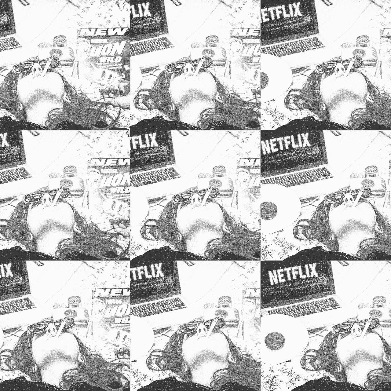 Pattern Abstract Backgrounds Pencil Drawing People Tree Long Hair Headshot Sunlight Flower Real People Eat Netflixandchill Sky Halloweed Myhalloween Halloween Autoportrait Close-up Day Multi-layered Effect Women Netflix MOVIE Paris