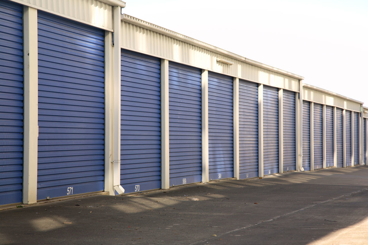 Architecture Building Building Exterior Built Structure Corrugated Iron Day Industry No People Outdoors Shutter Storage Storage Room Warehouse