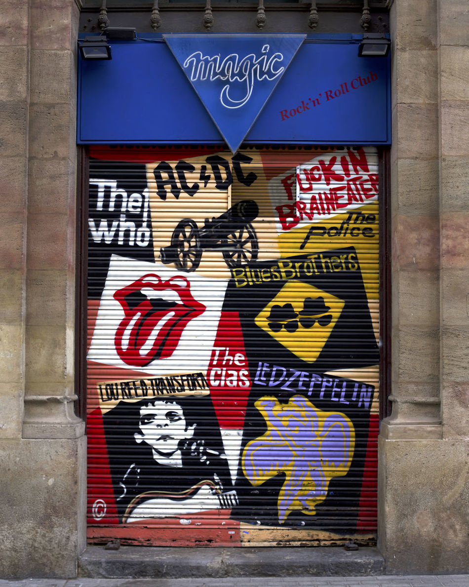 Doorway to hell. ACDC Art Bluesbrothers City Communication Day Ledzeppelin Loureed No People Outdoors RockandRoll Rocknroll Streetart Text TheClash Thewho