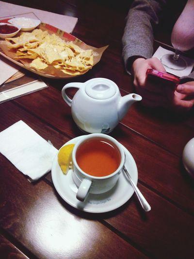 Nachos Tea Pub Girls Olitangerine Evening Weekend