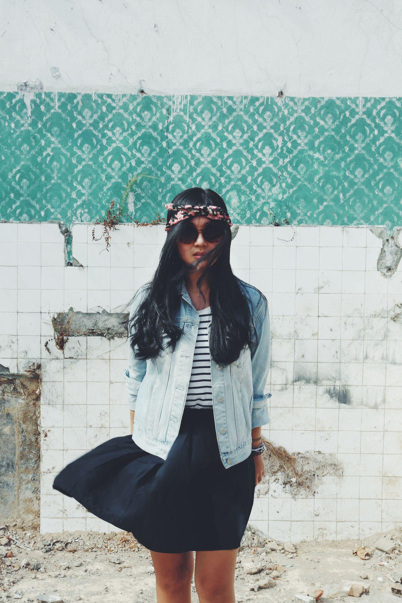 Portrait Of A Friend Asian  Streetfashion Streetphotography