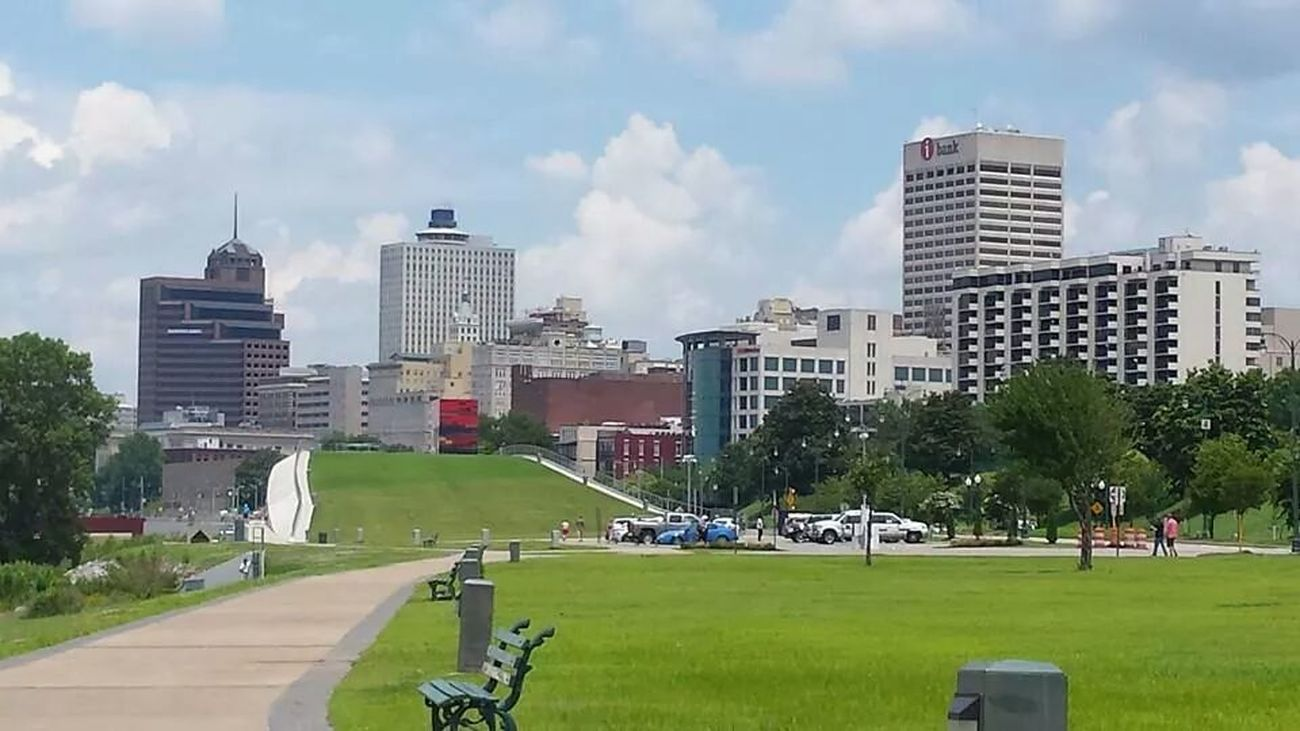 View Of Downtown Memphis Tn