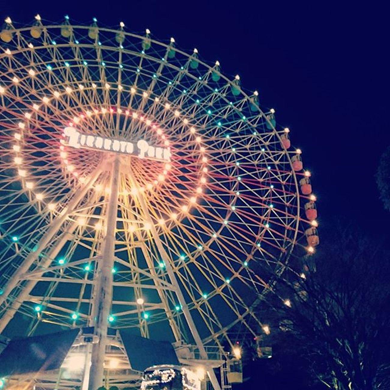 * 高所恐怖症の友達が付き合ってくれて乗れた観覧車。 ひらかたパーク ひらパー 観覧車 Japanfocus Igers Igersjp Team_jp