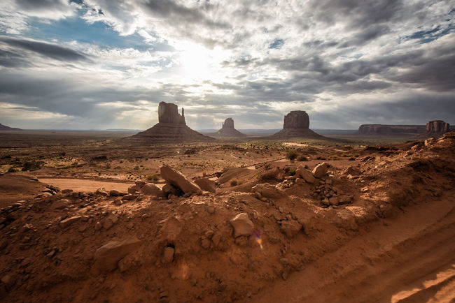 43 Golden Moments Arid Climate Beauty In Nature Cloud Cloud - Sky Cloudy Desert Famous Place Geology Landscape Monument Valley Nature Non-urban Scene Outdoors Physical Geography Remote Rock - Object Rock Formation Scenics Sky Tourism Tranquil Scene Tranquility Travel Destinations