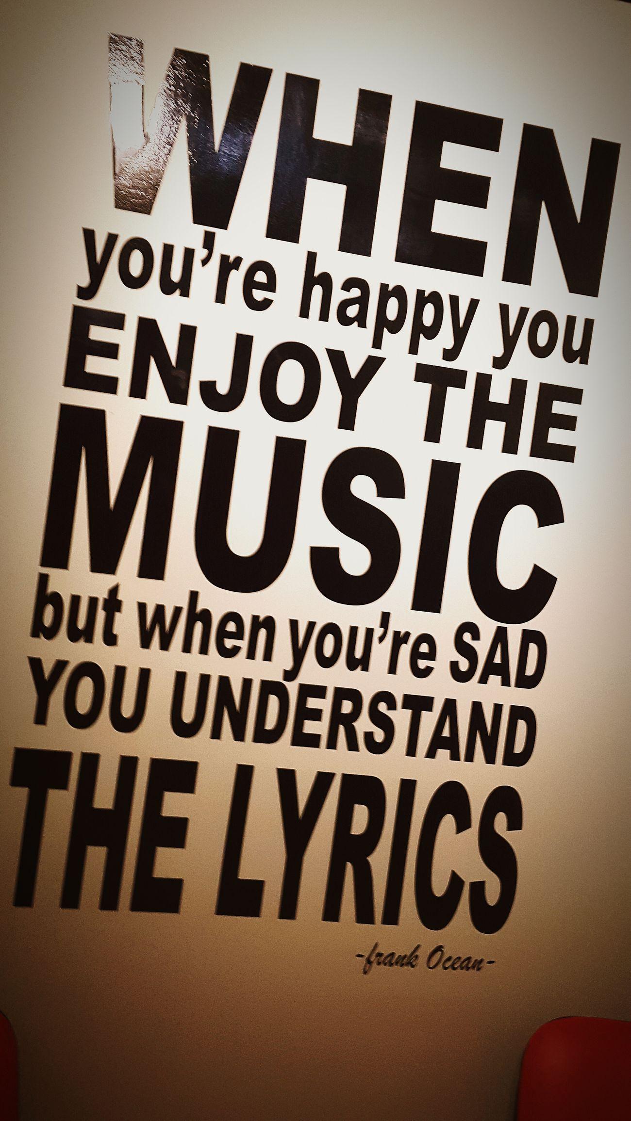 Words Of Wisdom... Check This Out Music Is My LifeMusic New Hits Ramichalhoub Enjoying Life Records Studio Popular Photos