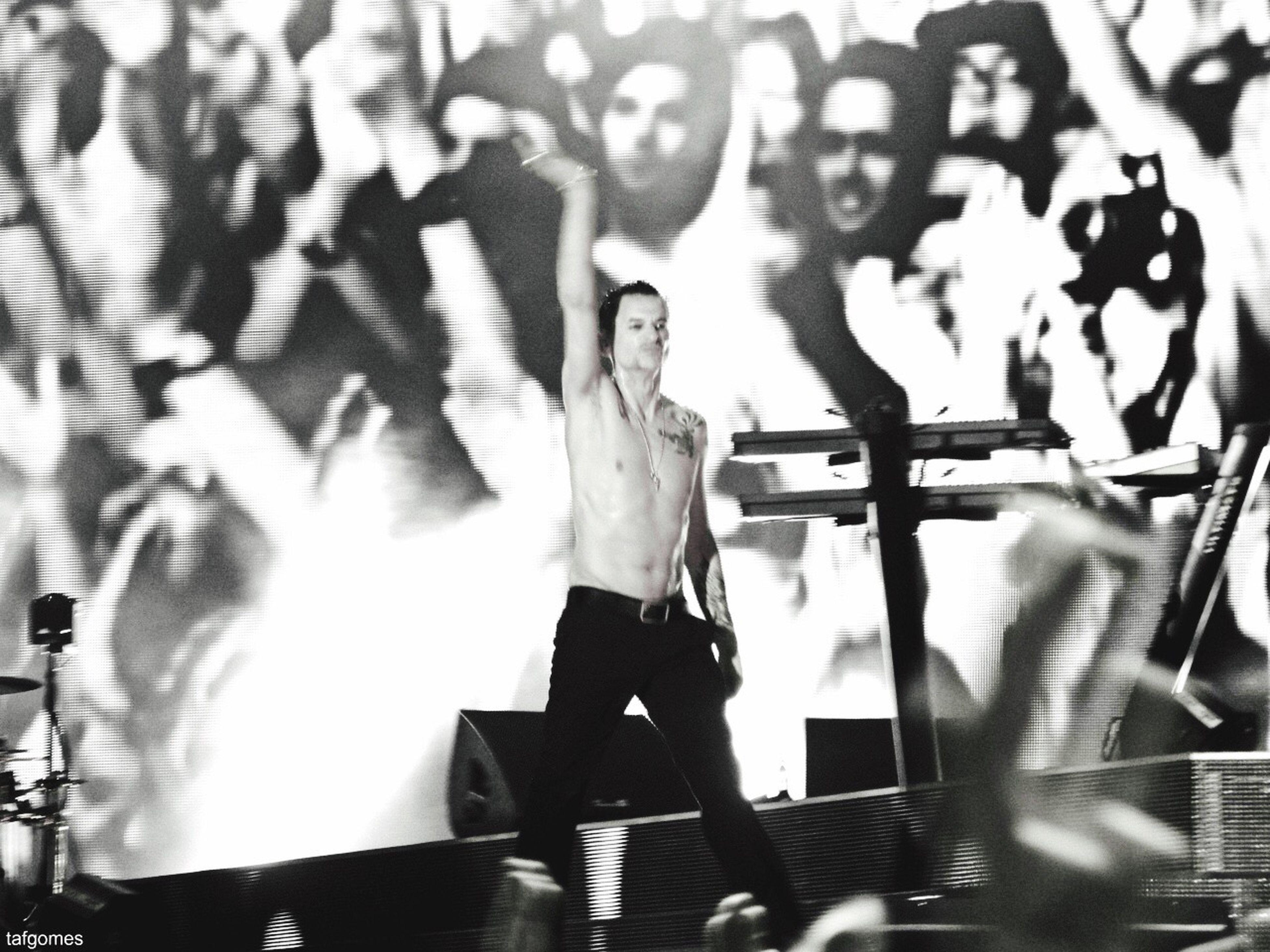Depeche Mode Optimusalive2013 Lisboa Festival Music Music Brings Us Together Blackandwhite EyeEm Best Shots Photography Nikon Nikonphotography Nikonistas Light And Shadow Emotions David Gahan Enjoy The Silence Precious Personal Jesus Tafgomes