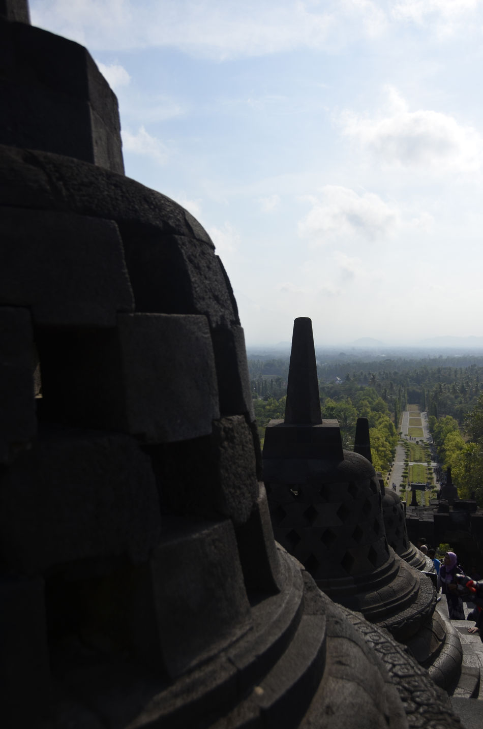 Borobudur temple in Central Java, Indonesia Architecture Borobudur Buddha Buddha Statue Buddhist Architecture Buddism Day Early Morning Hindu Temple Hinduism Holy Sites INDONESIA Japan Java No People Outdoors Sacred Sacred Places Sites Statues Stupa Sunrise Temple Temple Architecture Yogyakarta