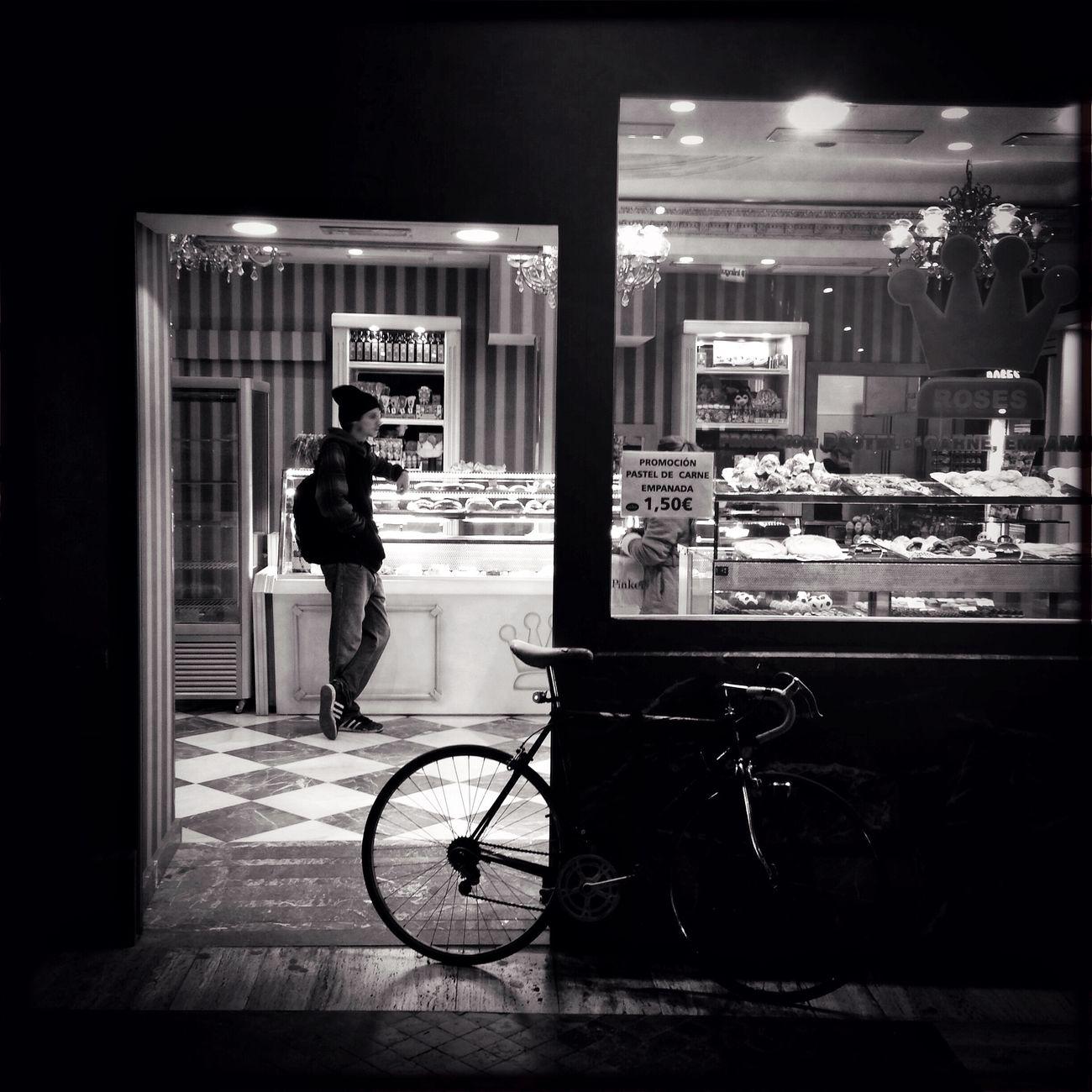 Confitería Hipstamatic Streetphotography Blackandwhite