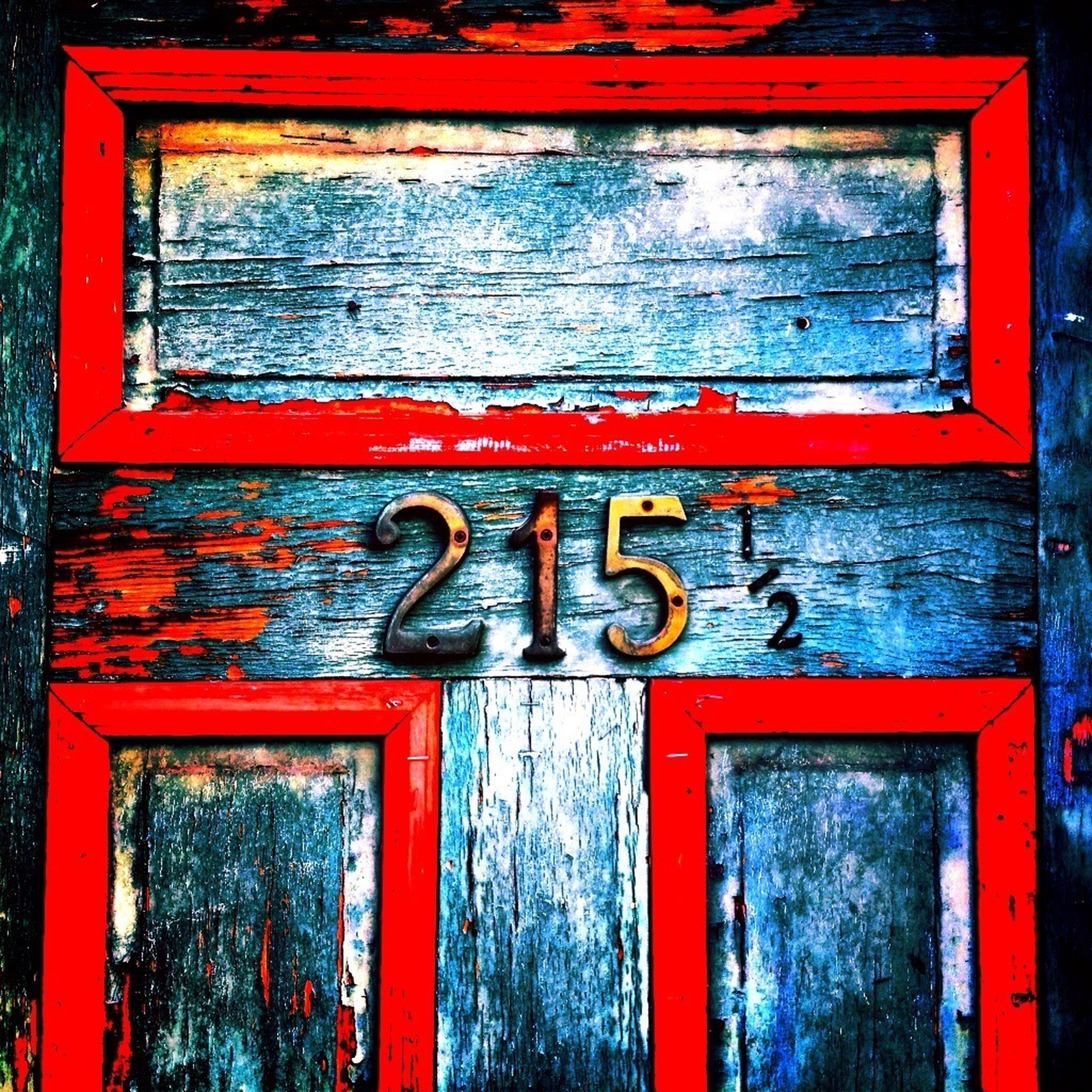 door, red, closed, wood - material, text, building exterior, built structure, safety, communication, close-up, wooden, architecture, protection, security, western script, old, house, window, metal, weathered
