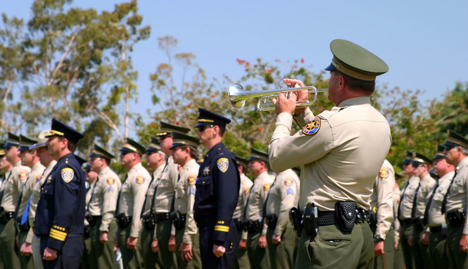 Ventura County Peace Officers Memorial Service Ventura County Peace Officers Memorial service Thursday, May 22, 2008 Army Attention Badge Celebration Ceremony Devotion Enforcement Funeral Guard Honolulu  Honour Law Memorial Memorial Service Memory Military Patriotic People Protection Safety Service Soldier Tribute Uniform Ventura County