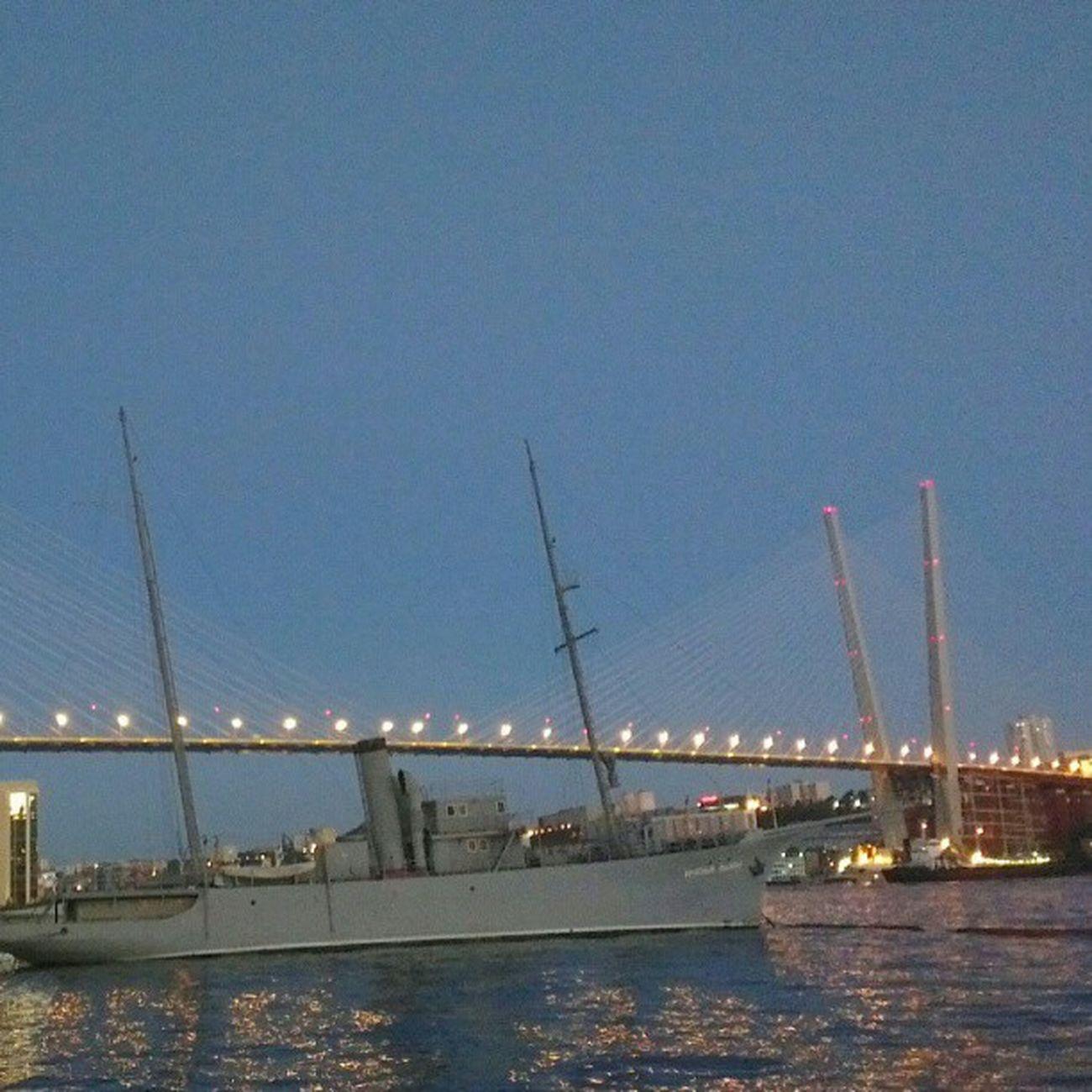 Золотой мост  Владивосток Vladivostok APEC2012