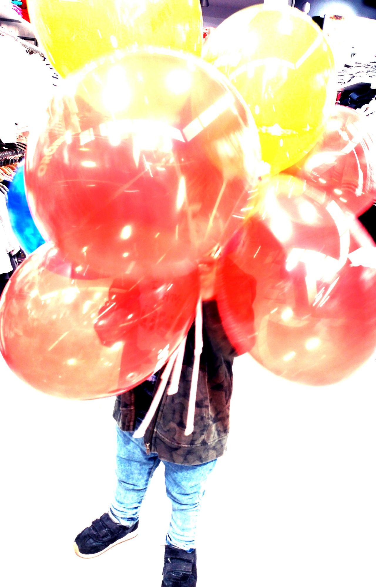 Globos De Colores Niños Niñosfelices Kids