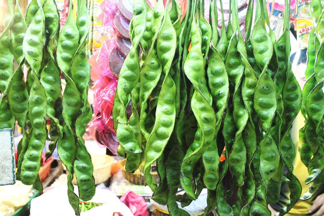 Runner beans at Chow Kit Wet Market in Kuala Kumpur. Malaysia Kuala Lumpur Kuala Lumpur Malaysia  Wet Market Chow Kit Vegetables Green Color Green Vegetable Green Beans