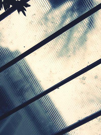 Sunday morning in Paris Window View Grey Sky Paris Glass First Eyeem Photo Verrière Fenêtre Ciel Sky Cloud Lines Lignes