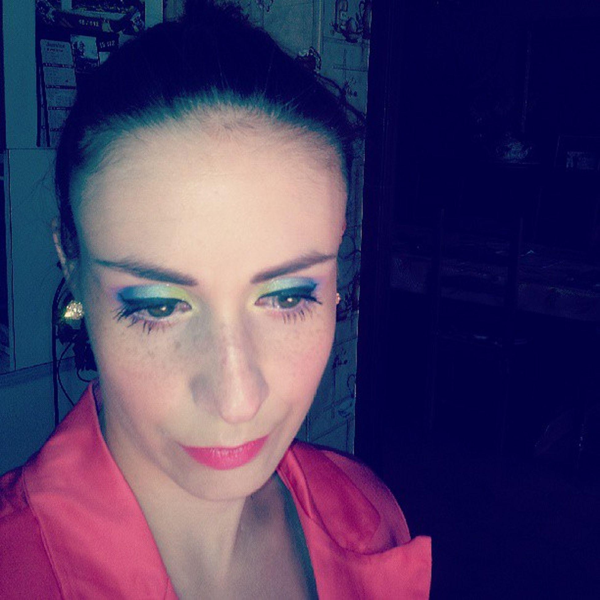 Summer is here ! Let's colour my makeup Rainbow Makeup Limecrime Aquataenia nars stila @limecrimemakeup