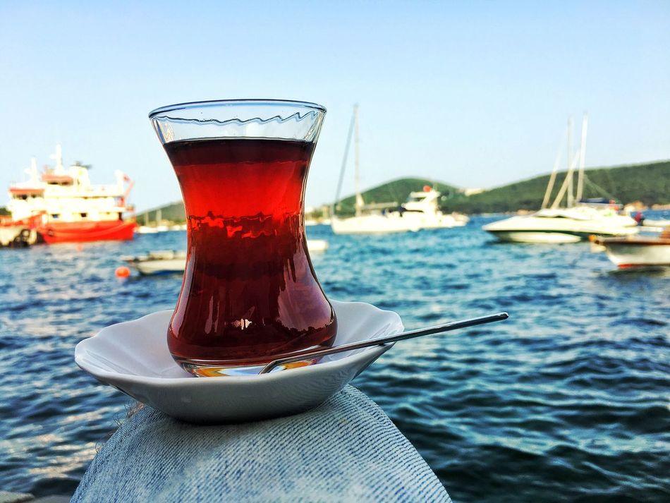 Burgazada Istanbul Turkey Traveling Tea Sea