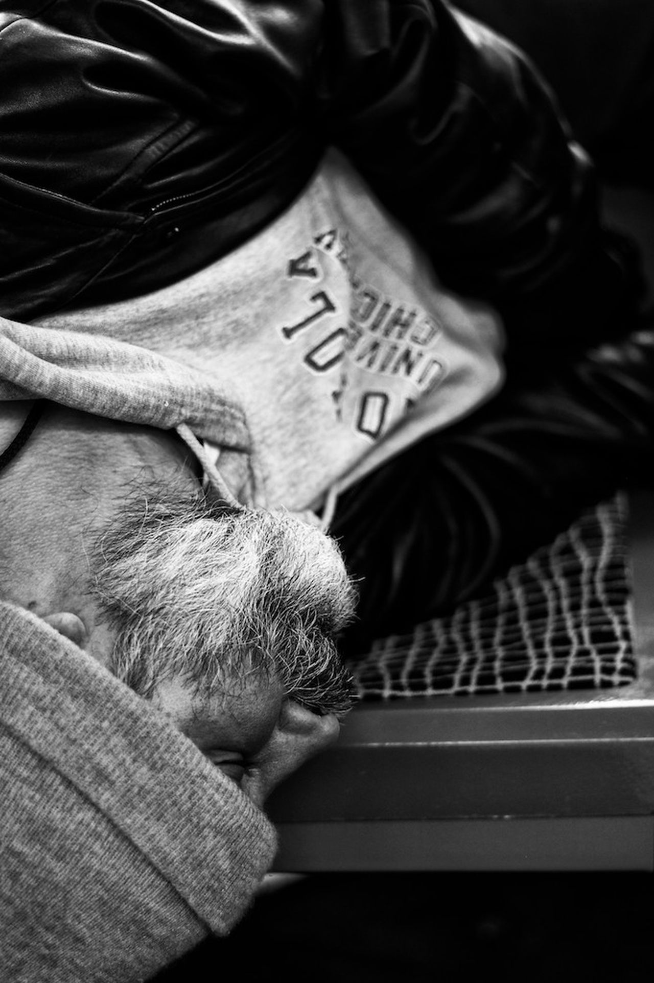 Homestreethome Homelessness  Homelessman Homeless Awareness B&W Portrait