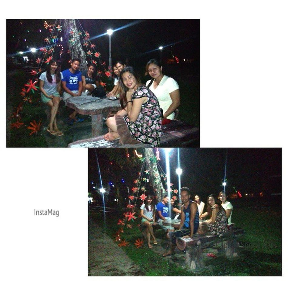 First to 'tambay' in Capilay Spring Park's Christmastime 2014. InstaMagAndroid Capilay BuntodElites Christmas Bugwas