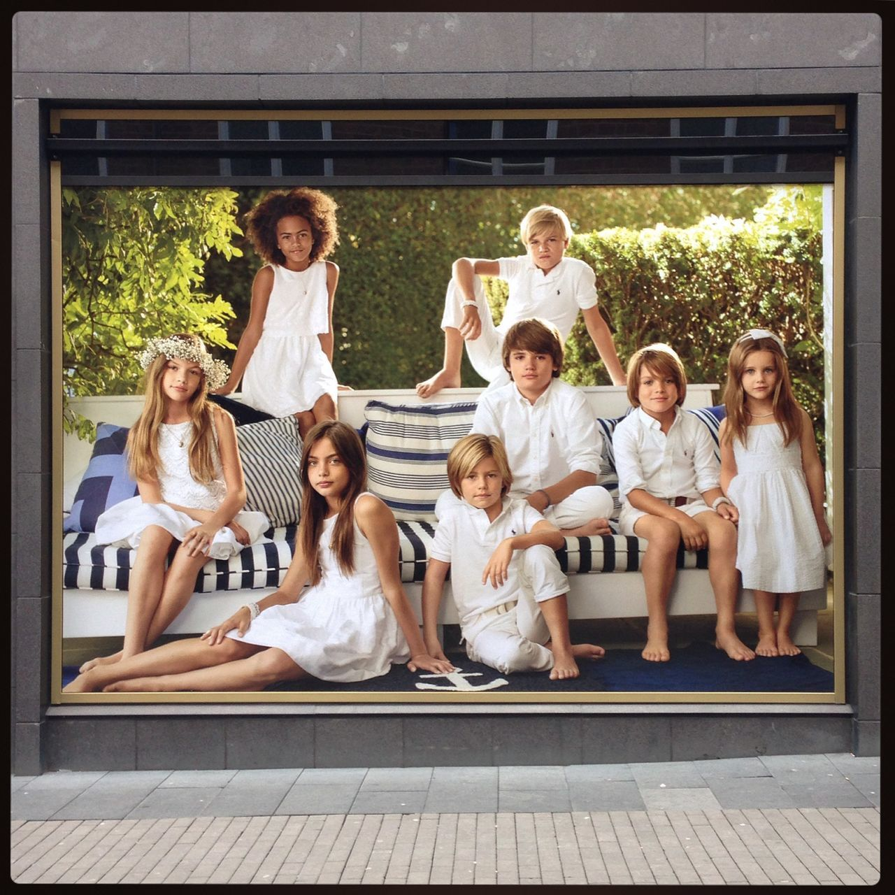 Adult Advertising Archival Boys Cheerful Child Childhood Community Education Females Friendship Fun Girls Group Of People Happiness Offspring Parent People Shopping Sitting Smiling Student Teenager Togetherness Women