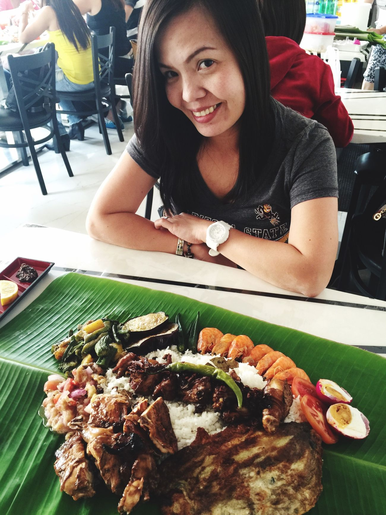 BoodleFight Pinoyfood Filipina Filipinofood UAE