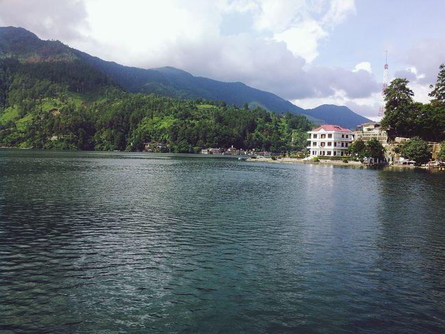 Toba Lake Relaxing Enjoying Life Hello World