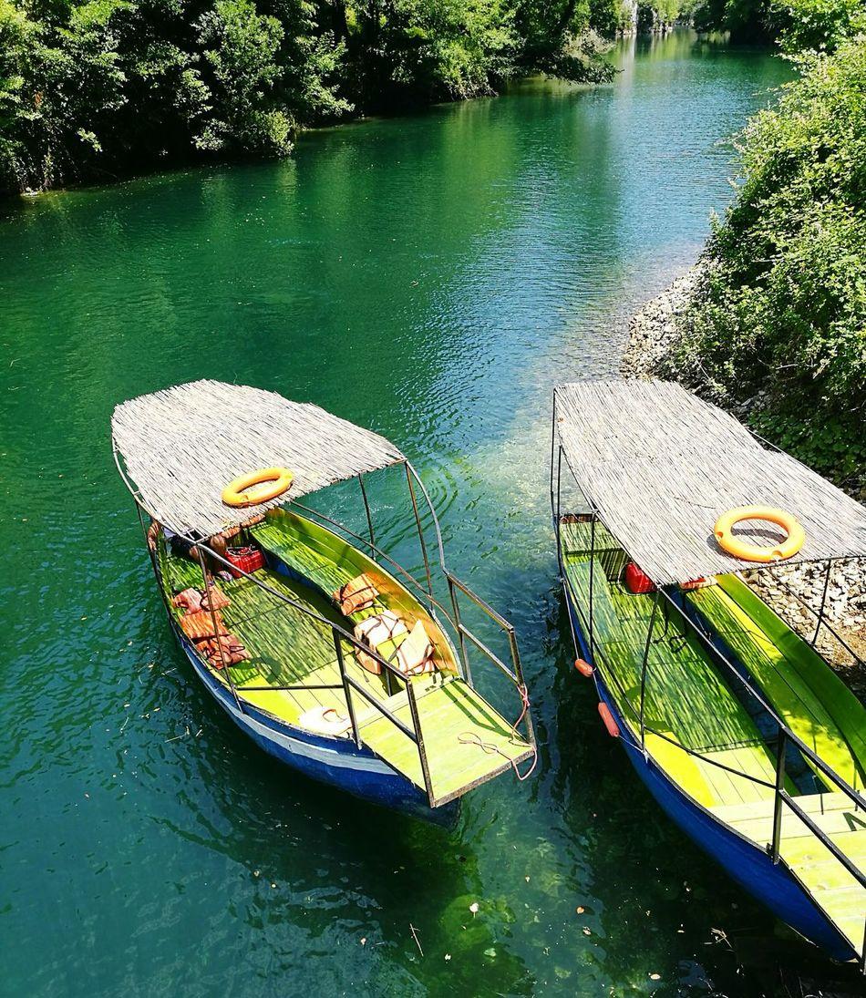 Canyon Matka Lake Boat Water Nature HuaweiP9 Macedonia Oo Travel The OO Mission