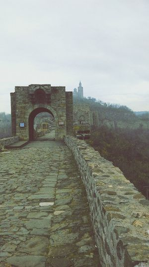 A foggy walk in the fortress of Veliko Tyrnovo Taking Photos Fortress Foggy A Walk To Remember