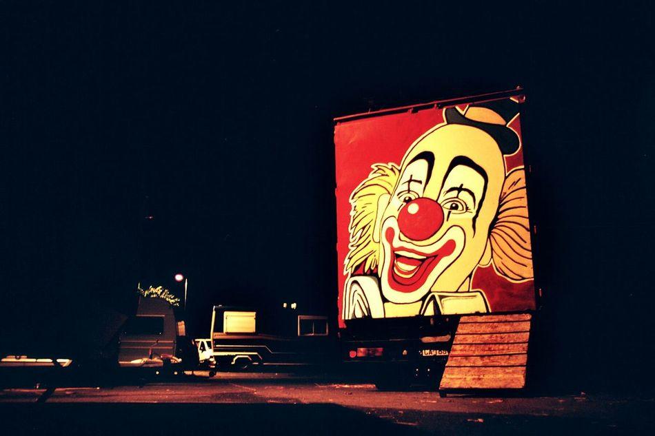 Circus Long Exposure 35mm Colorful Canonae1 Diapositive Analog Velvia100 Clown Filmisnotdead Analogue Photography 35mm Film Ishootfilm Slidefilm Fujifilm Red Nightphotography Streetphotography Circus Cirque Caravan Showcase: December Film Rouge