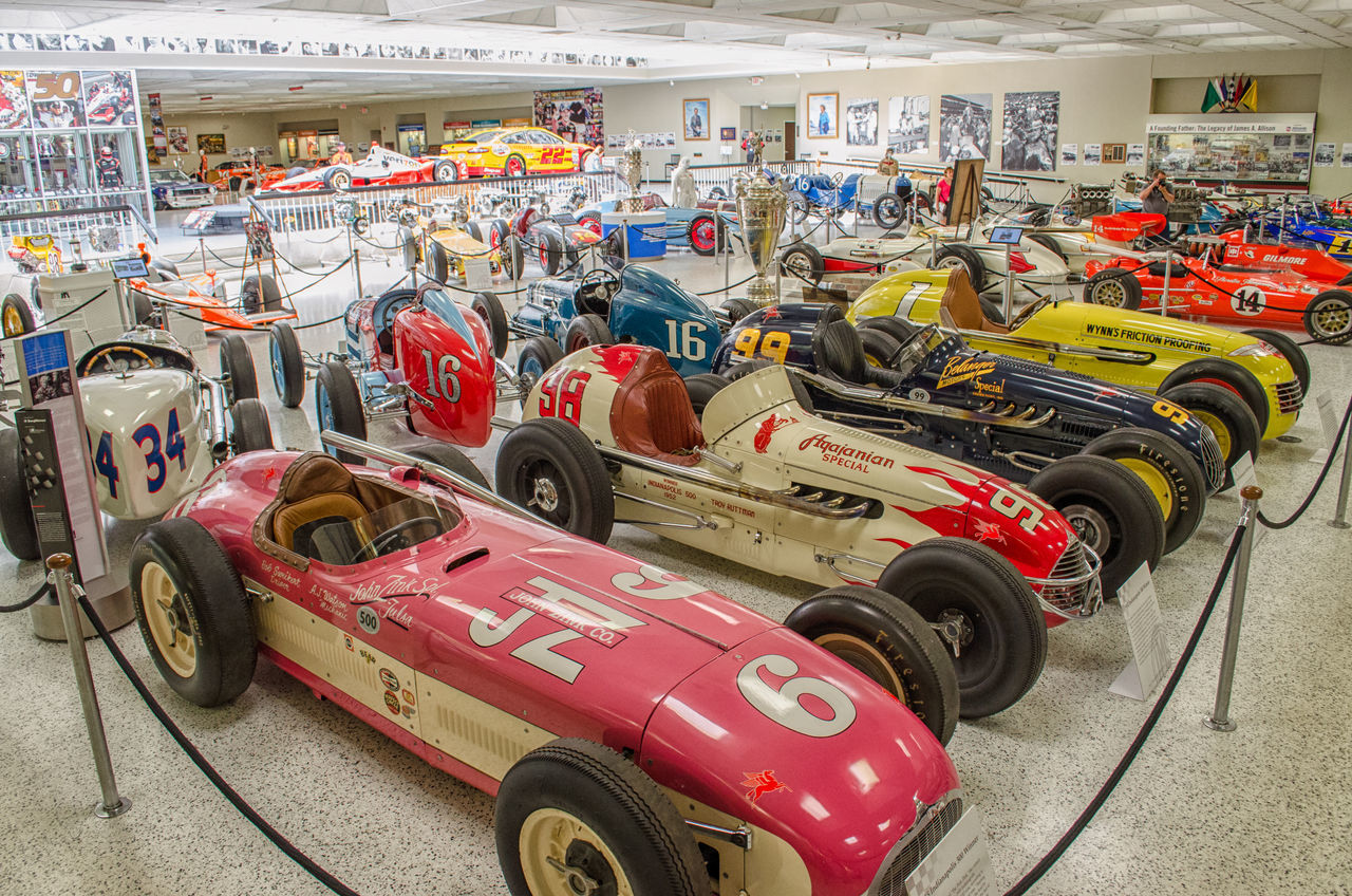 Hall Of Fame Indoors  Indy 500 Old Cars Race Car Race Cars Racecar Speedway Sport Car Sports Cars Sports Race
