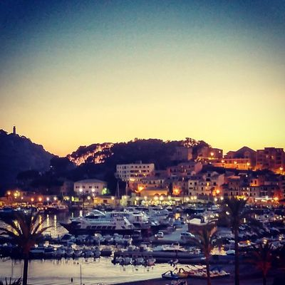 A beautiful day comes to its end. Let's jump into the nightlife! Vacationtweet Lifeisgood Portdesóller Mallorca Baleares Spain