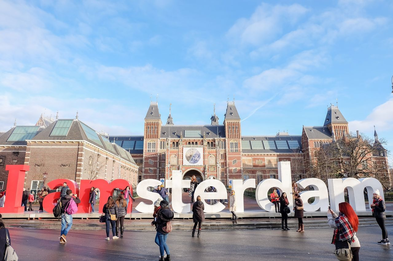 Rijksmuseum Rijksmuseum Amsterdam Amsterdam Netherlands Iamamsterdam Europe Eurotrip Europe_gallery Streetphotography Structure Building Building Exterior Vacation Travel Traveling Travel Photography Travel Destinations Traveler Traveller