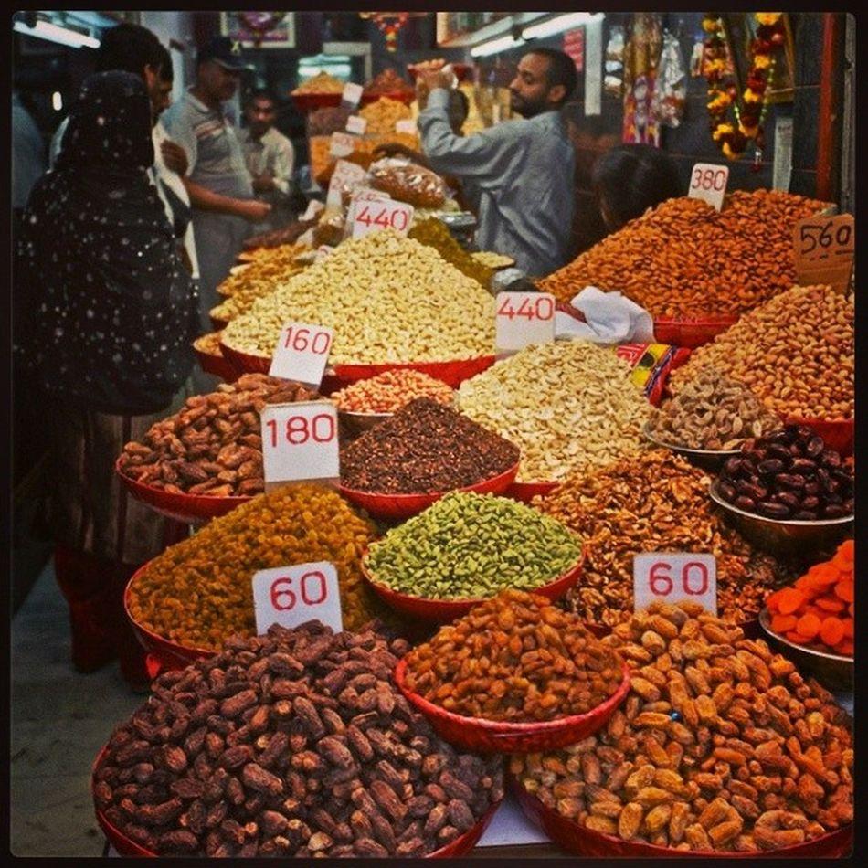 ASIA 's largest Spice n Dryfruit Market KhariBaoli Delhi OldDelhi DelhiMarket DelhiStreet