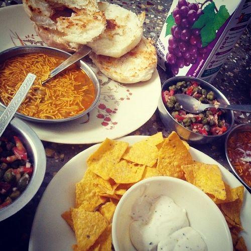 Monday Breakfast Withthesissaaay Omnomnom nobluesday