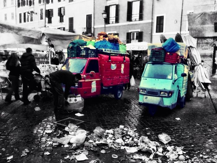 Capture The Ride With Uber The Explorer - 2014 EyeEm Awards Street Photography Campo de' fiori in Rome EyeEm Best Shots