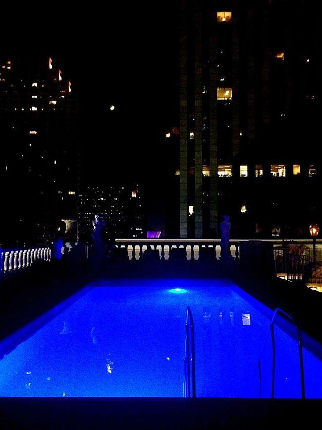 Late Night Swim
