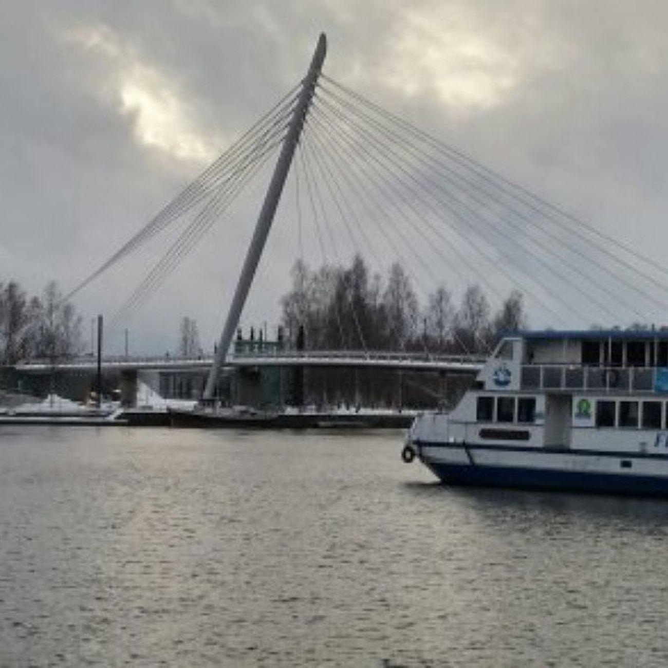 Tampere Laukontori Finnishsilverline Bridge Silta Suomi Finland Ilovetampere Ilovefinland Visittampere Tre Tampereallbright