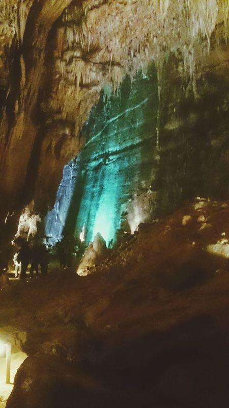 Las Cuevas de Valporquero en Leon