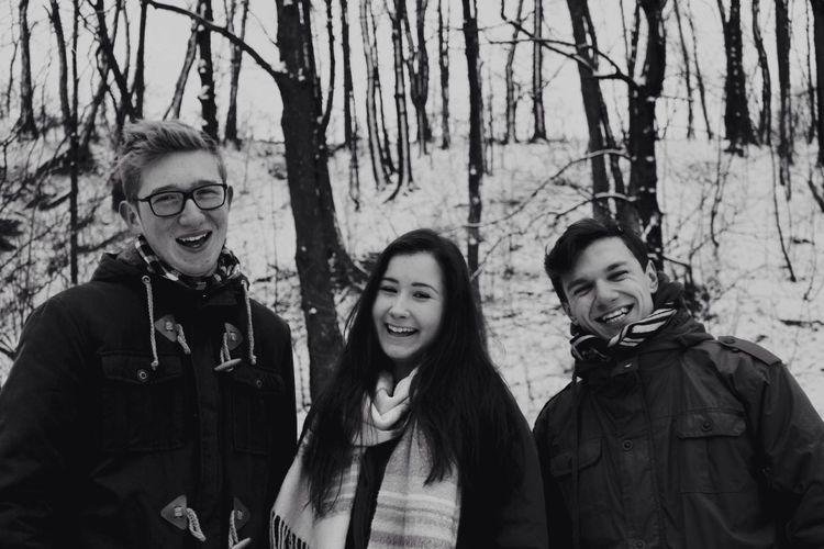 Everyday Joy Blackandwhite Smile Friends