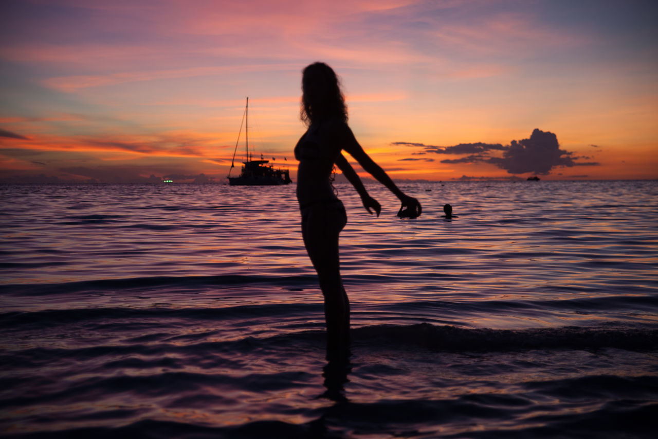 Beautiful stock photos of holiday, Activity, Arms Outstretched, Beach, Beauty In Nature