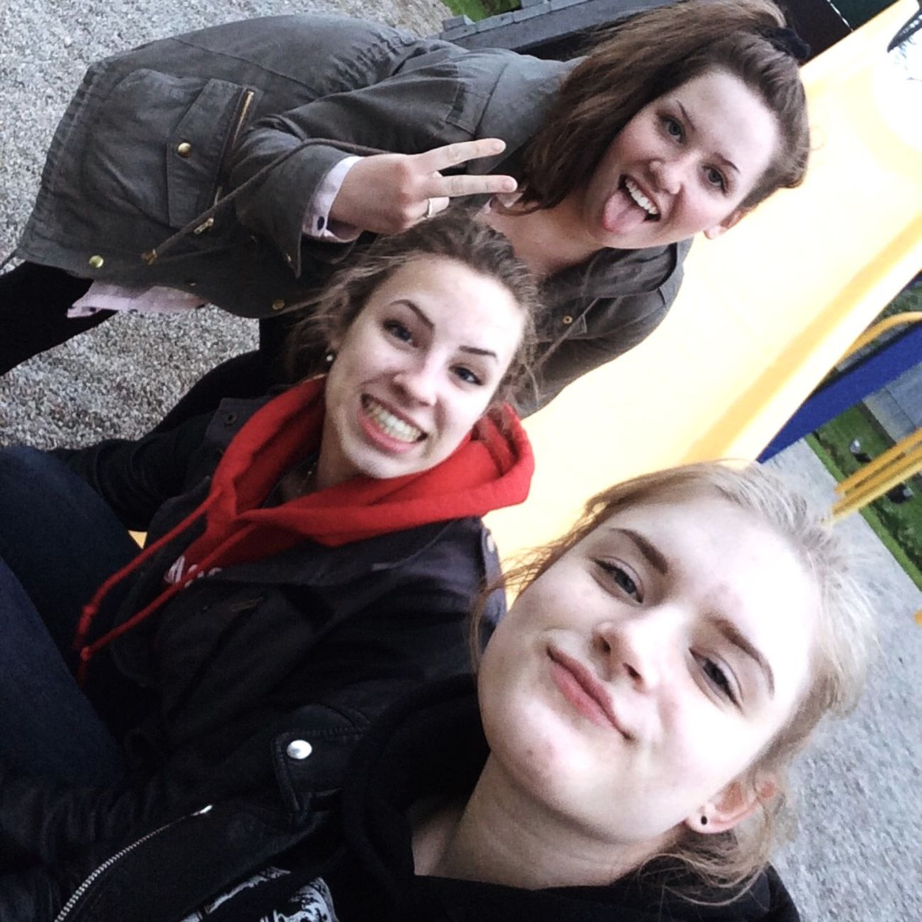 Weirdfaces Girls Teens Park