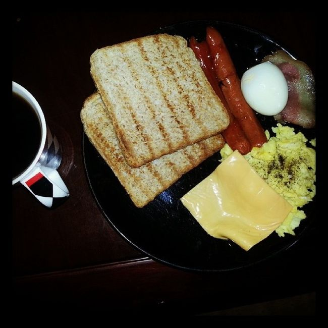 Have you had breakfast? Mommade Just got back home YestaNightFewDaysTreat from MomMotherlove Sustaining While it lasts