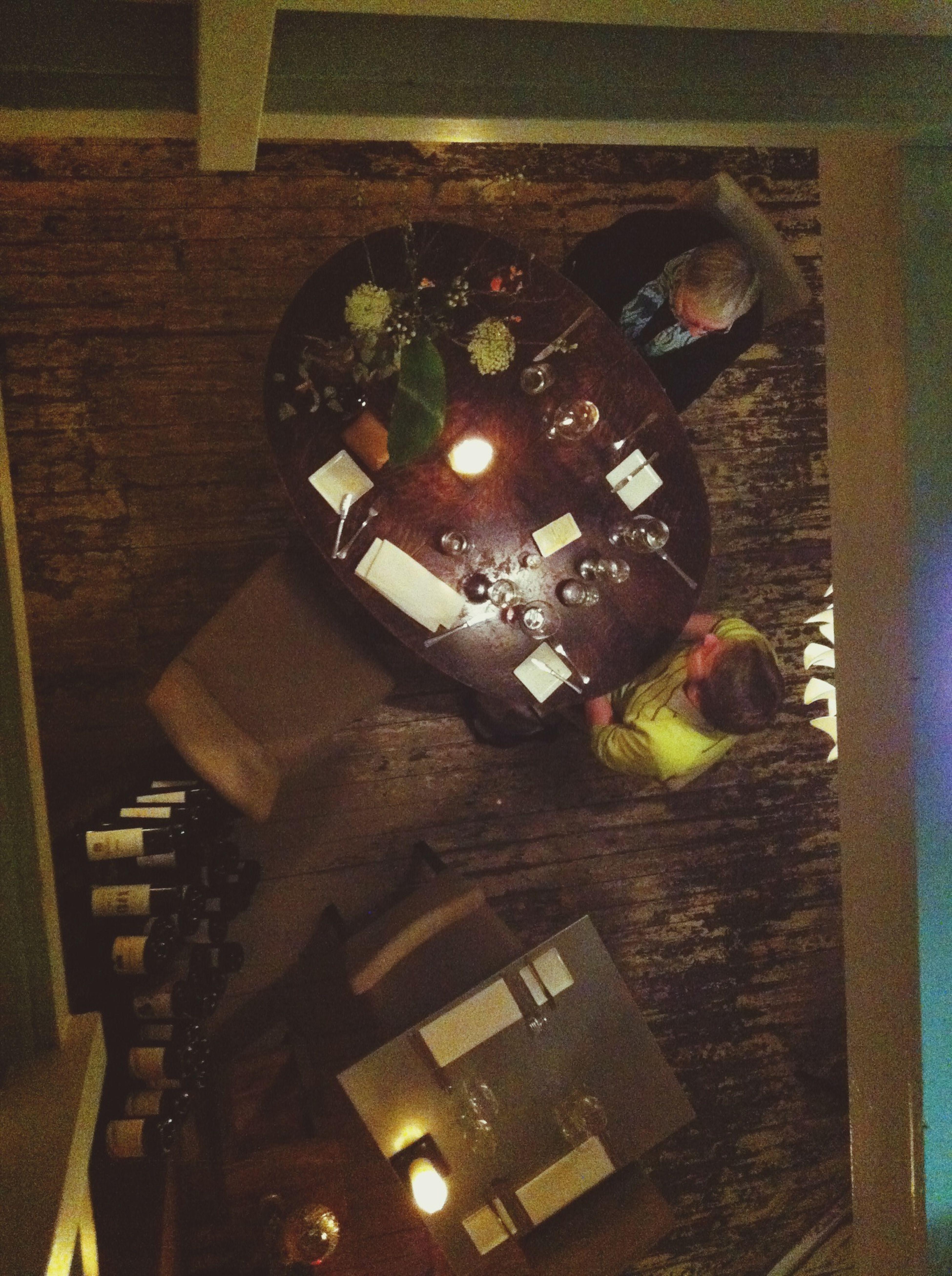 Enjoying a very, very good Dinner !!! Lekker in Utrecht