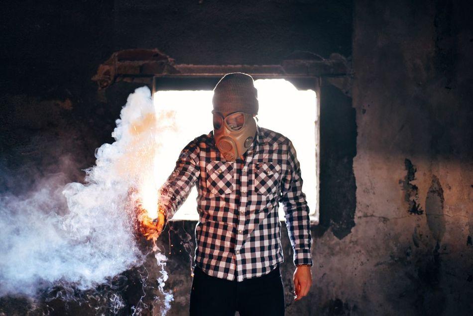 Beautiful stock photos of smoke, Abandoned, Casual Clothing, Czech Republic, Danger