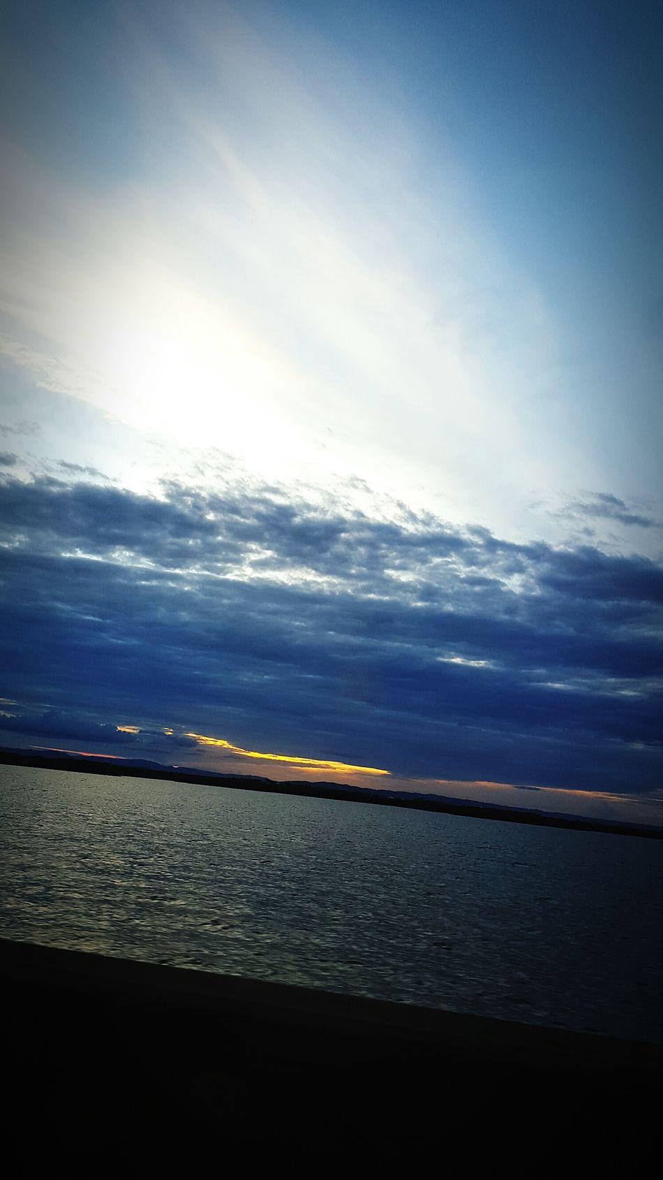 EymEm Nature Lovers Sky &water Driving Home Over The Bridge Lovely Sky Sunset Love Love Love.♥♥♥