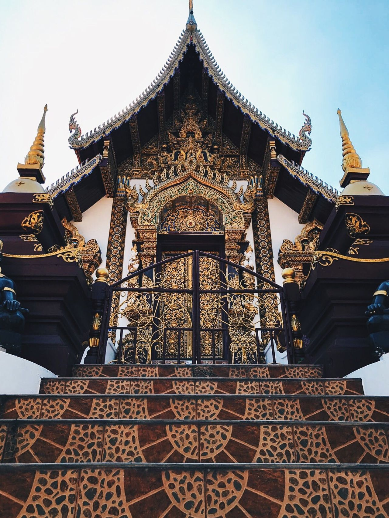 Temple Architecture Traveling