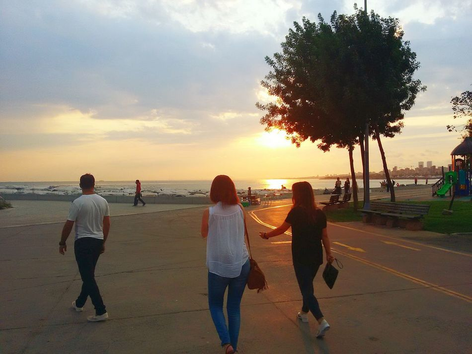 Istanbul Turkiye Seaside Sunset Summer Views Samsungphones S Mini