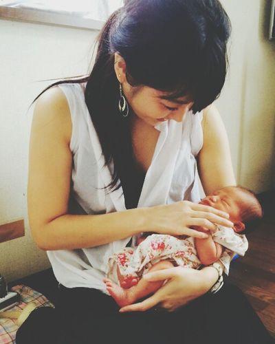 癒された😊❤ Newborn Very Cute Baby 新生児 Myfriendsbaby👼 Japan Rilex