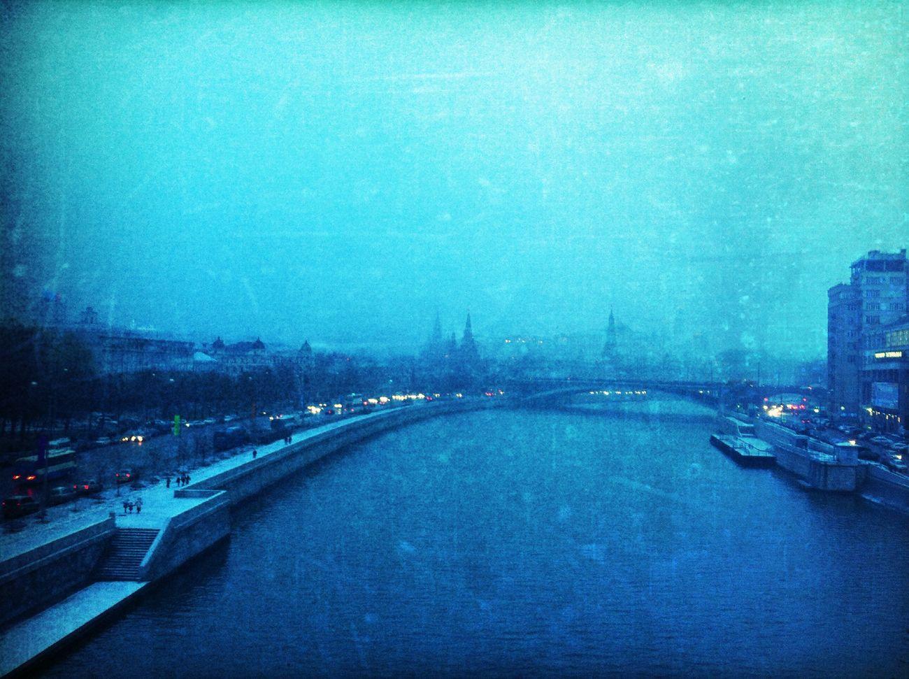 bridge at Патриарший мост Bridge